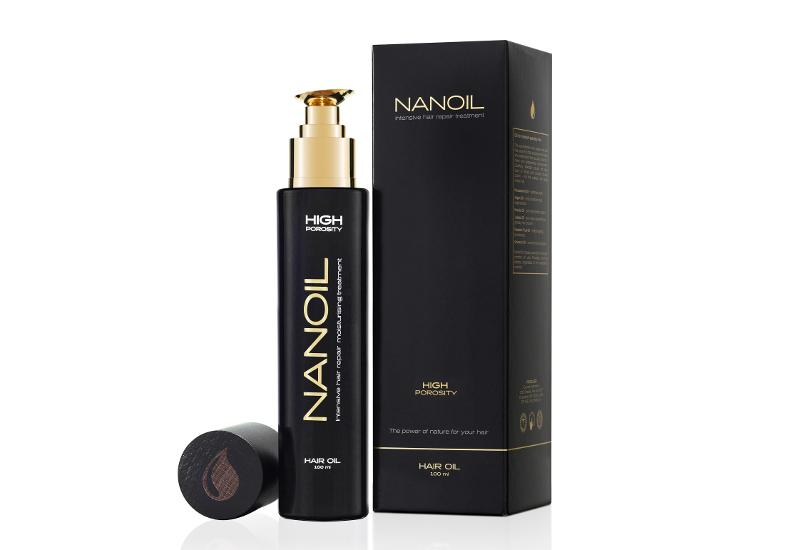 olio per capelli Nanoil Trattamento versatile